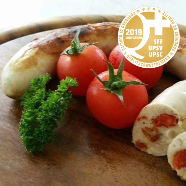 Tomaten-Mozzarella-Würstli