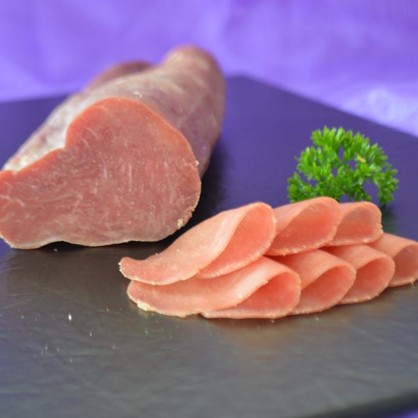 Biosphären Trockenfleisch geschnitten